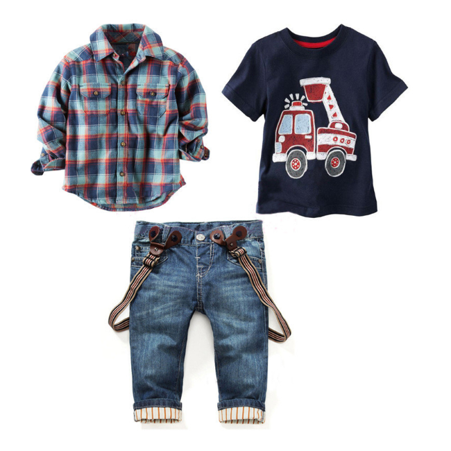 PHB 11481 fashion kids kleding 2019 boutique boy kleding