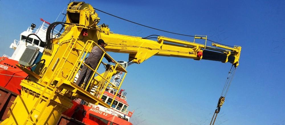 China Telescopic Boom Marine Crane Suppliers