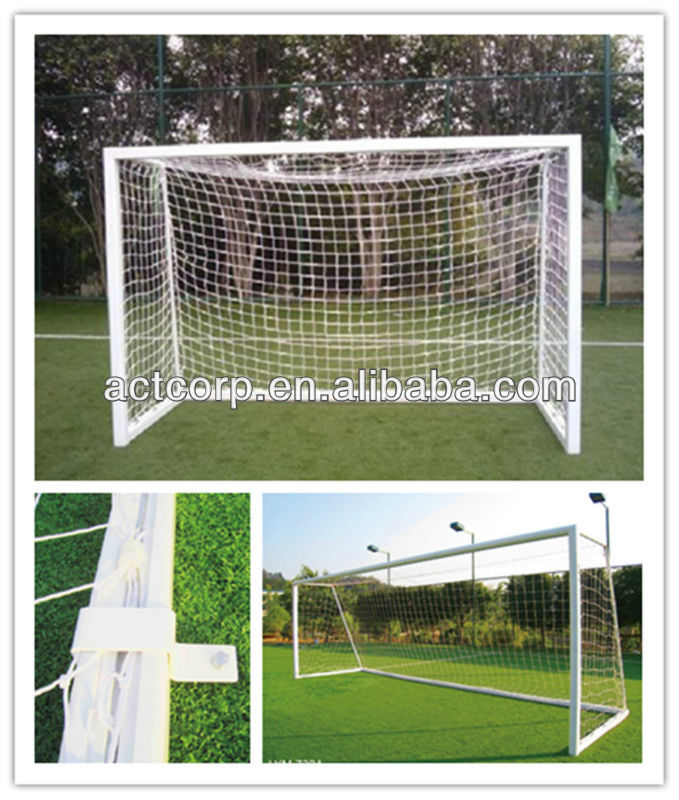 Free standing aluminum portable soccer goal post for futsal