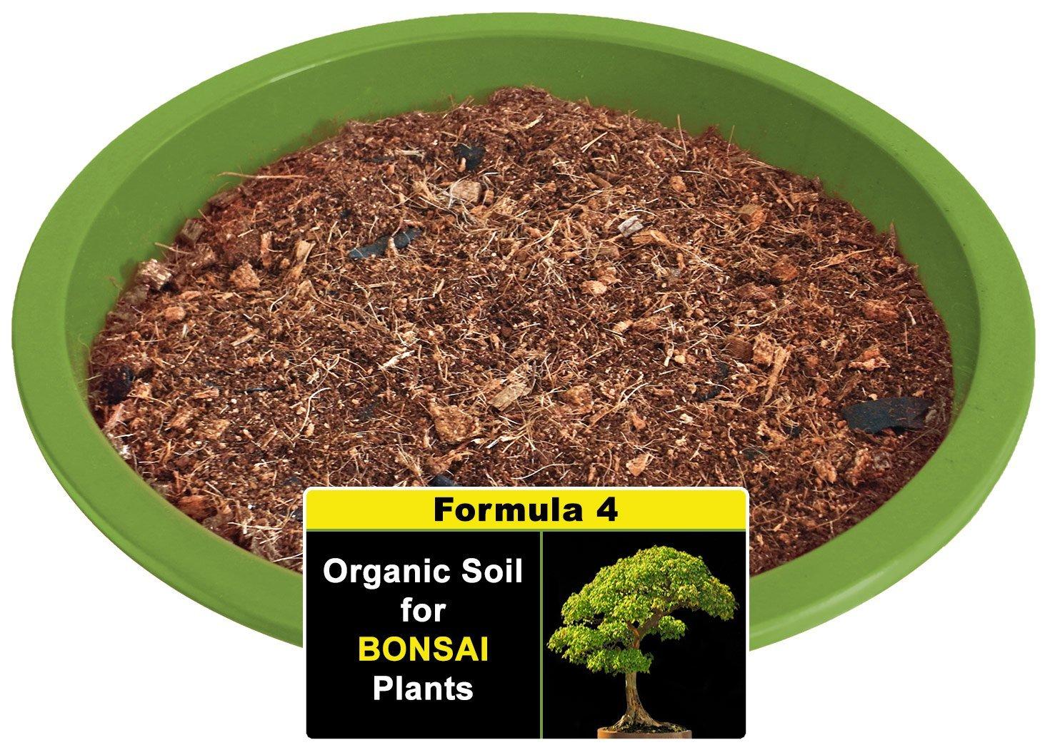 Smiling Worm 5 Quarts Bonsai Soil With Charcoal Olive Tree Chinese Elm Wisteria Sakura