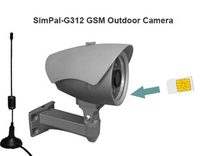 SIM card outdoor camera, GSM outdoor camera, GSM outdoor remote camera