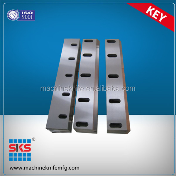 D2 Steel plastic crushing knives/blades