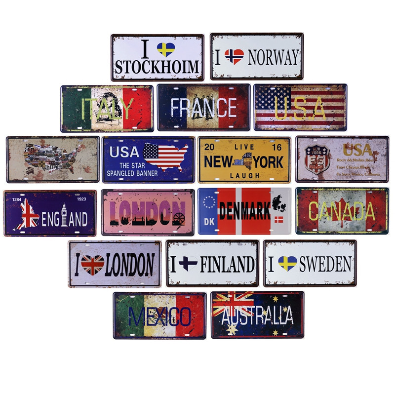 Online Buy Wholesale Tin Signs Canada From China Tin Signs