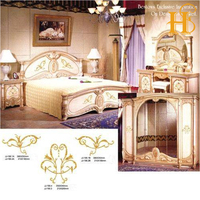 HS self adhesive water transfer printing decals paper for antique furniture