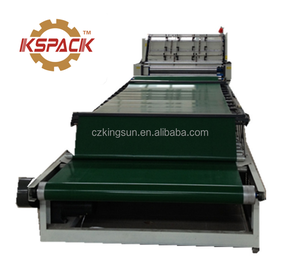 Corrugated cardboard flute lamination machine