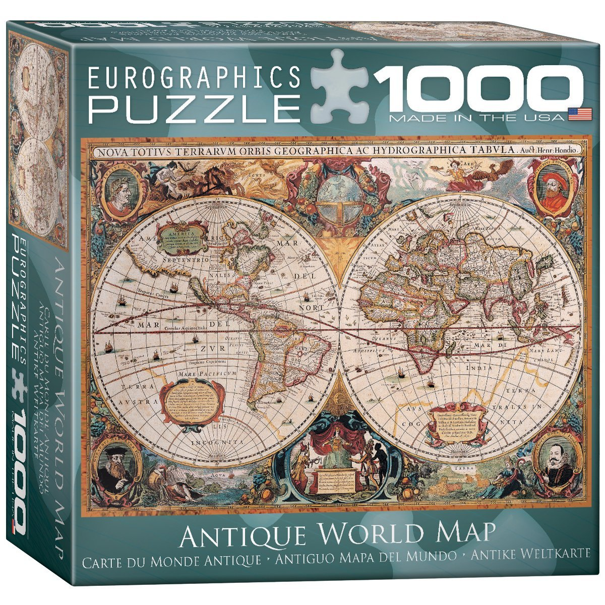 Cheap map game puzzle find map game puzzle deals on line at alibaba get quotations antique world map puzzle 1000 piece gumiabroncs Choice Image
