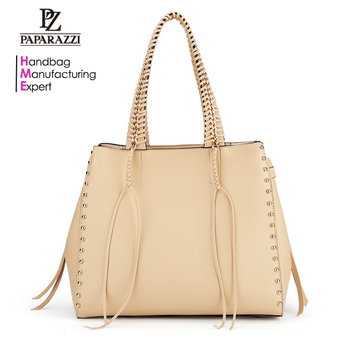 7871 2018 New Arrival Wholesale Paparazzi Designer PU Leather Lady Fashion Bag OEM Custom Women Handbags
