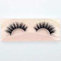 natural looking wholesale cruelty reusable wispy strip 3d mink eye lashes