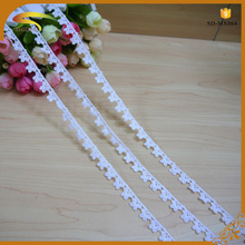 100% polyester manufacturers embroidery strips chemical venise lace trim lace