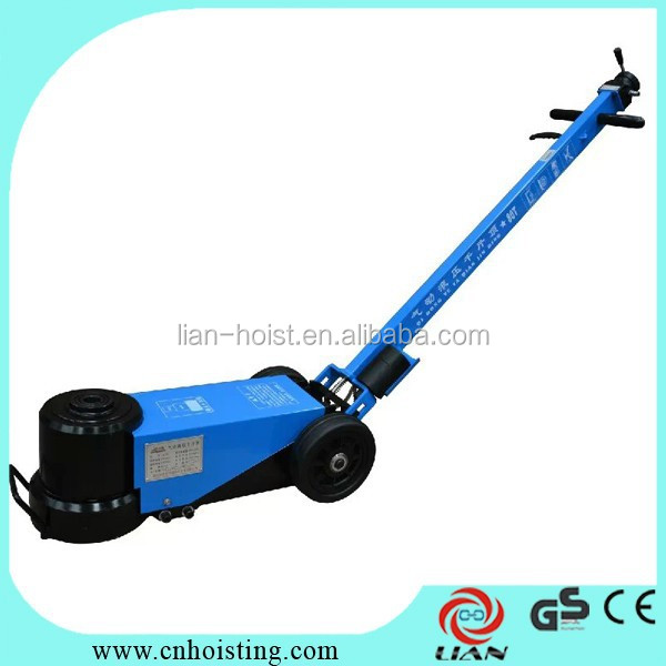 Active demand product pneumatic floor jack for world market