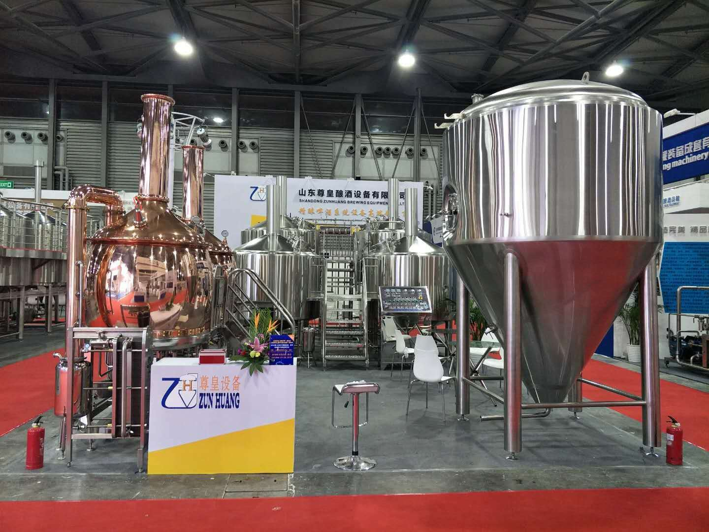 300L electric heating beer brewery plant Micro craft  beer brewing equipment