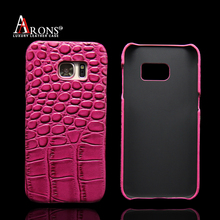 Wholesale embossed crocodile genuine cow leather mobile phone case for sale
