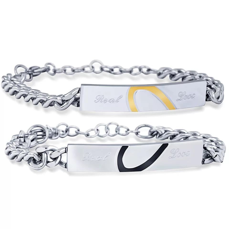 27579108087d Personalizado haciendo de lujo de los hombres de acero inoxidable cadena  encanto pulsera