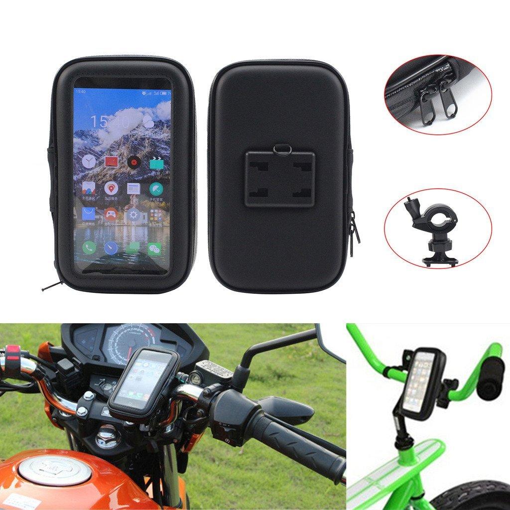 NEVERLAND 4.7 Inch Motorcycle Bike Bicycle Handlebar Holder Mount Waterproof Bag Case for Phone GPS M