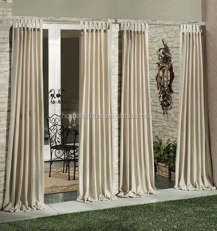 Balcony curtains curtain menzilperdenet for Outdoor balcony curtains
