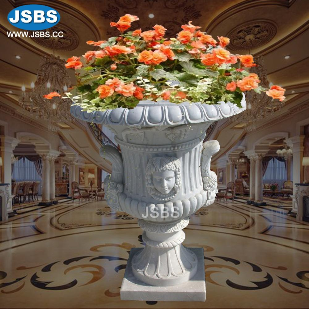Roman Style Stone Home Decor Garden Flower Pot Planter Design Planters And Pots Indoor Decorative