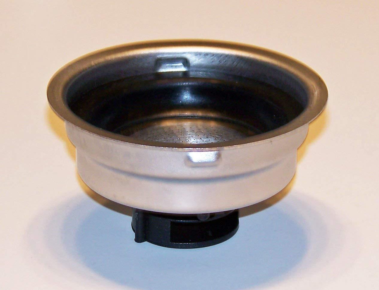 Delonghi Filter Assembly 1 Cup For Delonghi Models EC460, EC155, DES027, BCO430, DES028