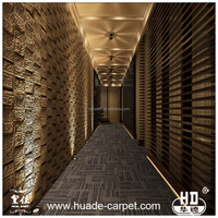 Soundproof PU Office Floor Carpet Tiles Design with Competitive Price
