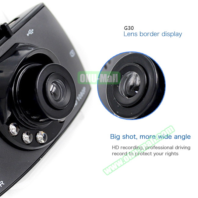 720P 1080P HD Image Mini Portable Car Camcorder for Vehicle on Dashboard