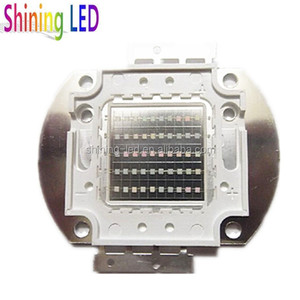 Factory Low Price High Quality Ultraviolet Diode Epileds Chip High Power Array 100w UV LED 410nm 415nm 420nm 430nm