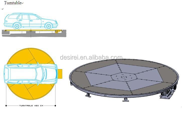 2015 Neuen Stil Auto Display Plattform Auto Drehen