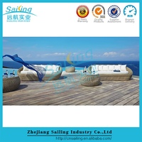 Outdoor Popular Bali Roots Synthetic Rattan Outdoor Cheap Cafe Furniture