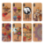 Custom Printed Real Wood PC Mobile Phone Case for iphone X XR XS MAX