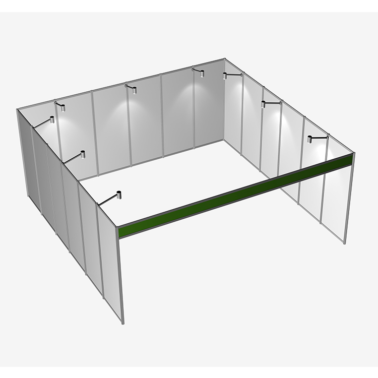 Portable Modular Exhibition Display 20X20 Booth