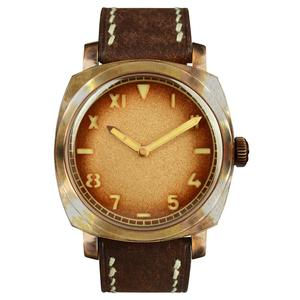 Custom classic high quality 20atm water resistant copper bronze ETA automatic diver wrist watch for sale