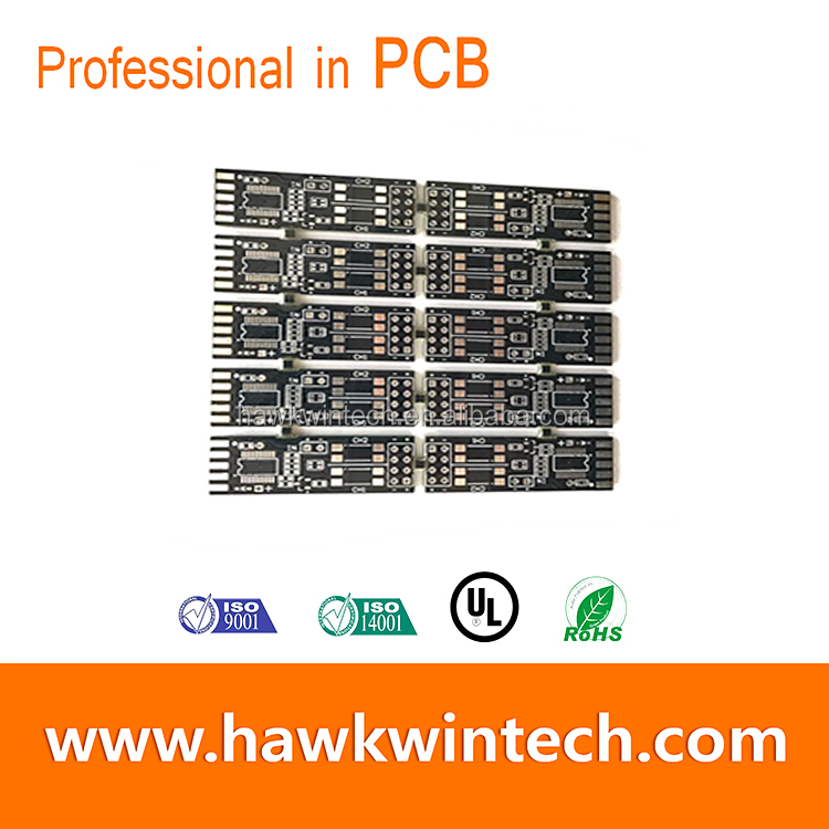 Custom-made USB player Power Supply PCB HAL Printed Circuit Board FR4 Multi-Layer Boards