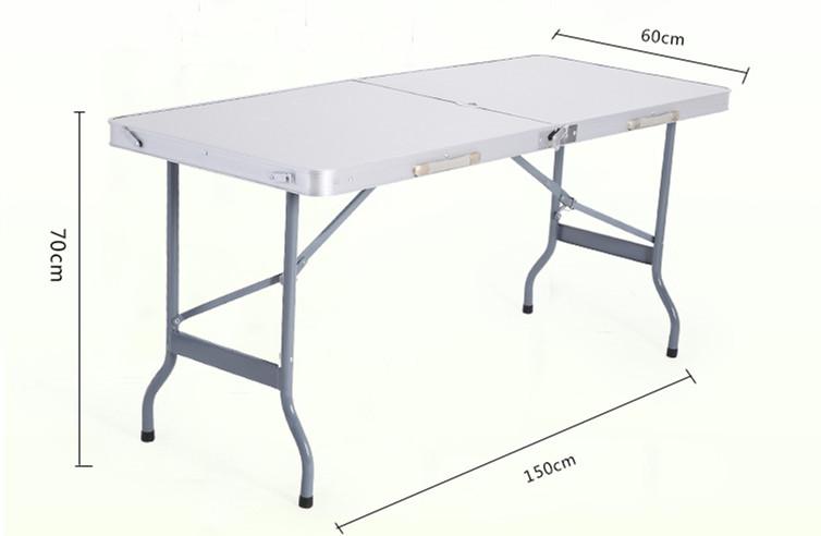 Niceway Buy Grandes Alta Ft Aluminio 8 De mesa Aluminio Calidad Mesa mesa Lotes Plegable Plegable IWEDH92