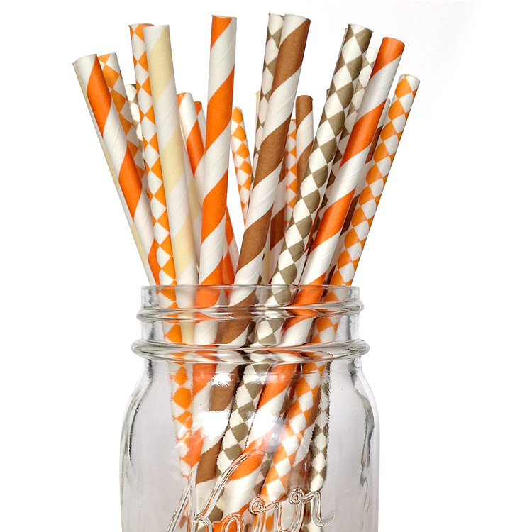 Lovely paper straws manufacturer,disposable eco paper straw wrapping paper