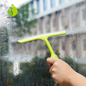 Window brush cleaning equipment rubber glass wiper squeegee