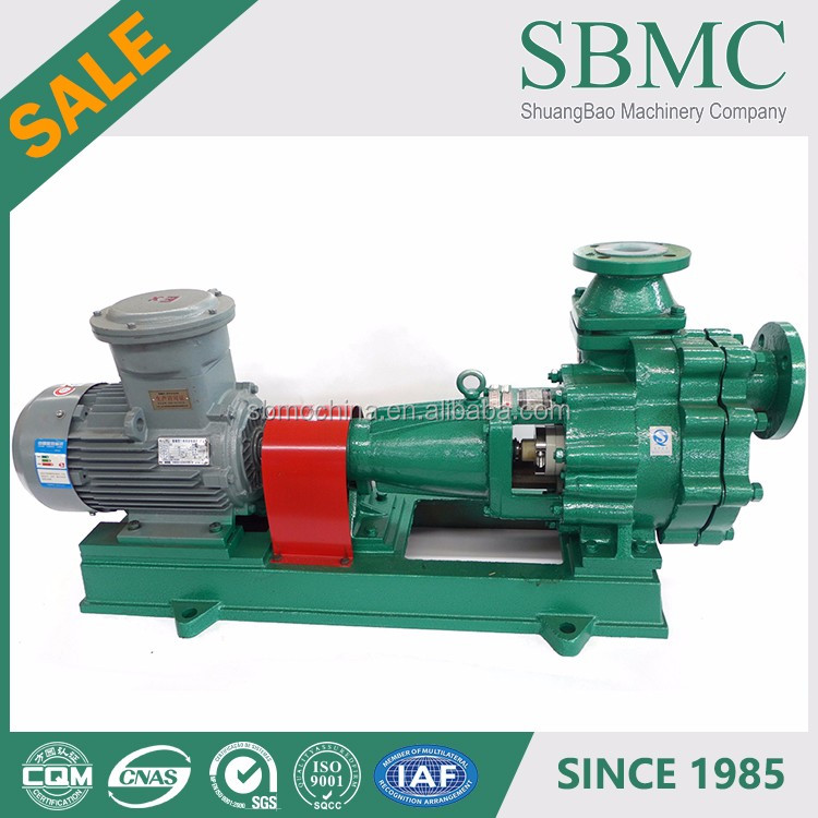 Centrifugal ANSI/ASME caustic soda solution magnetic water pumps supplier