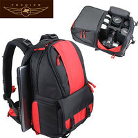 Custom OEM Laptop Compartment Waterproof Digital Camera Bag Backpack