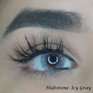 Meetone Hidrotone Yearly Lenses Icy Gray Toric Cheap Cosmetic Colored Contacts