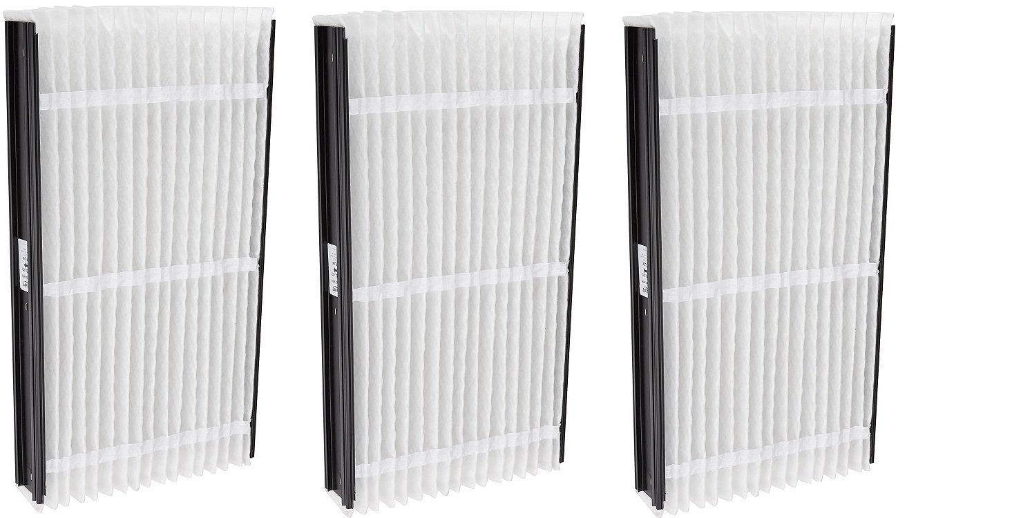 Aprilaire 413 Filter Single Pack for Air Purifier Models 1410, 1610, 2410, 3410, 4400, Space-Gard 2400 (3 PACK)