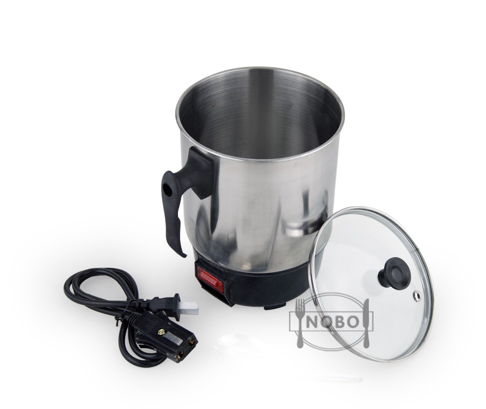 Dry burning-resistant protection stainless steel portable electric multi cooker