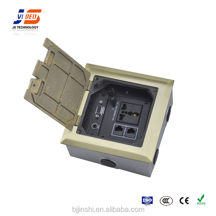 Power And Data Recessed Network Floor Socket,Electrical Outlets ...