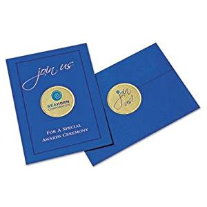 """Avery - 2 Pack - Round Print-To-The-Edge Labels 2"""" Dia. Gold Foil 96/Pack """"Product Category: Labels Indexes & Stamps/Labels & Stickers"""""""