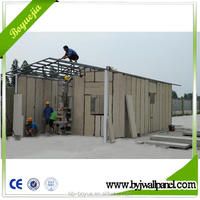 Quick assembly prefabricated prefab luxury villa with material of eps cement wall panel