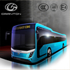 New design 12m luxury tourist bus diesel coach bus with toilet