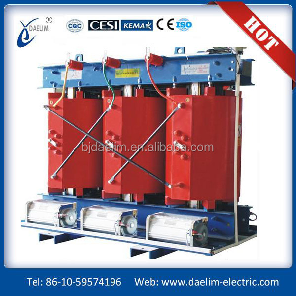 SBK Series 8000VA 415V to 24V three phase dry type isolation transformer