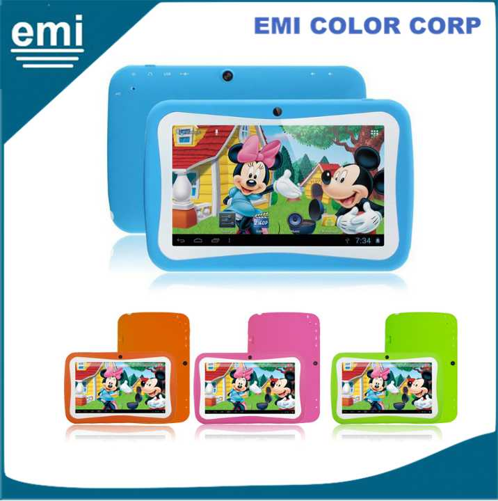 7 inch kids tablet pc/ tablet for kids/ android tablet pc 7 inch for children