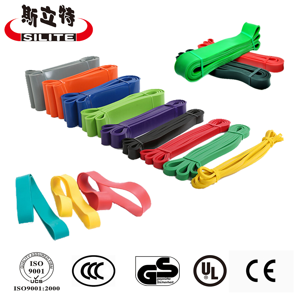 8 Level Fitness Yoga Elastic Resistance Band, Custom Resistance Exercise Band loop