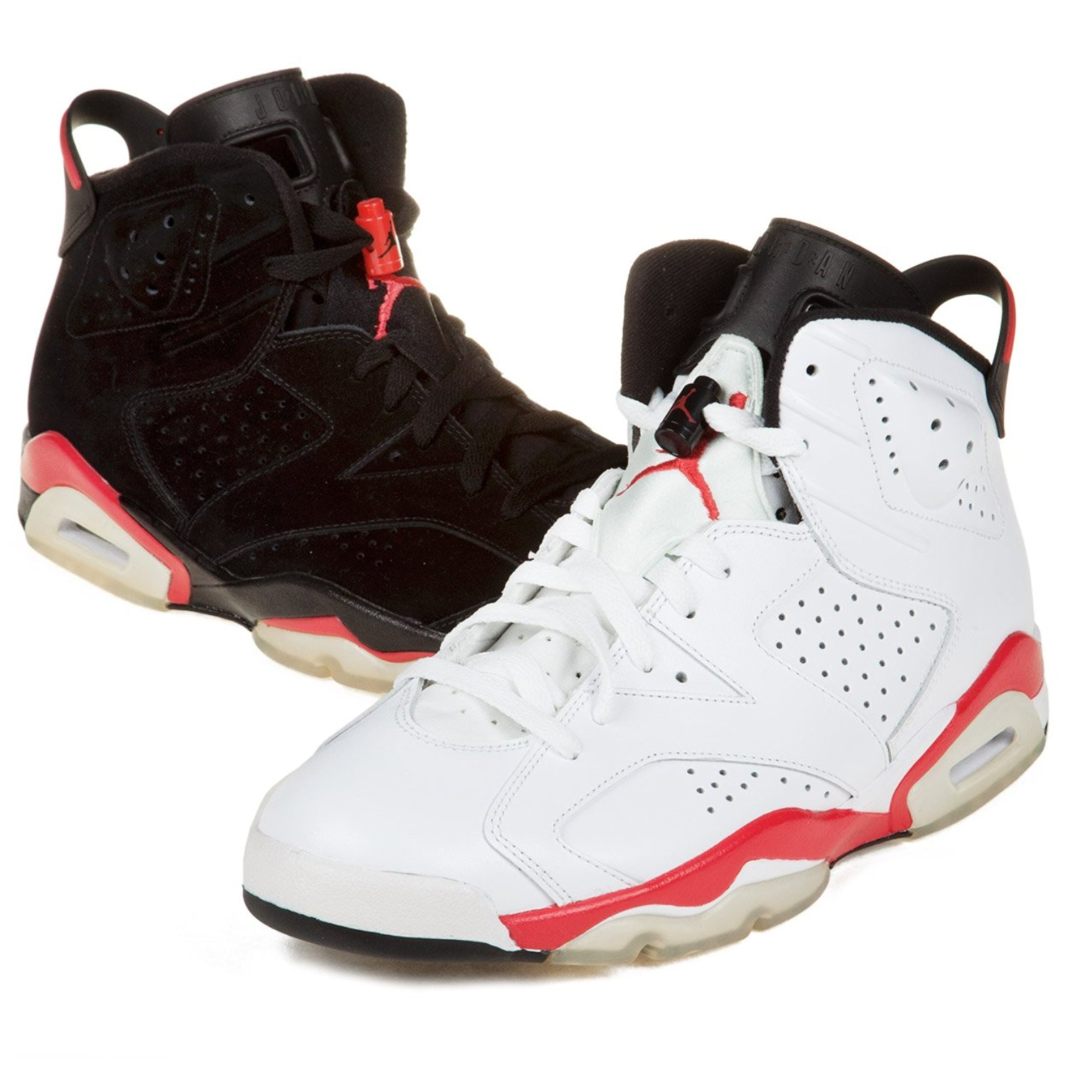 new products f1306 500b5 Get Quotations · Nike Mens Air Jordan 6 AJ6 Infrared Pack Synthetic  Basketball Shoes