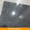 Sparkle grey artificial quartz stone quartz flooring tiles