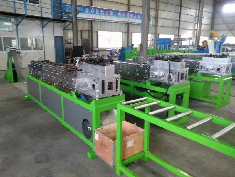 Prefabricated House C89 Light Steel Frame CAD Roll Forming Machine with Vertex BD Software