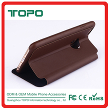 [TOPO] Mobile Phone Accessories Top Quality Magnetic Foldable Stand Wallet Leather Phone Case For iphone 6 6s plus