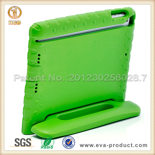 Kids cover for iPad air tablet eva foam hot selling case for iPad 5 with carrying handle stand